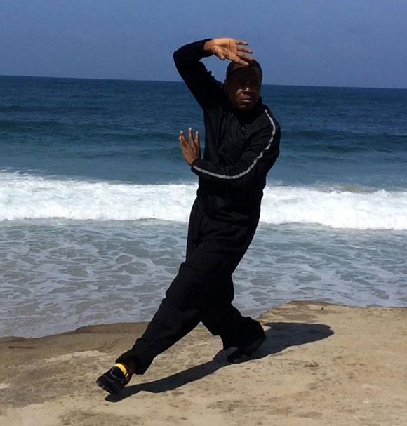 Bagua 4 Man by ocean